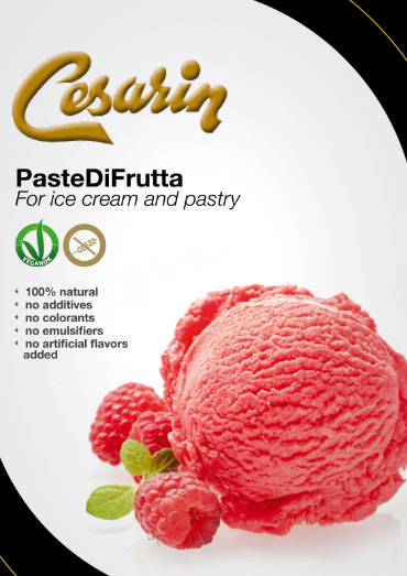 PasteDiFrutta for ice cream and pastry