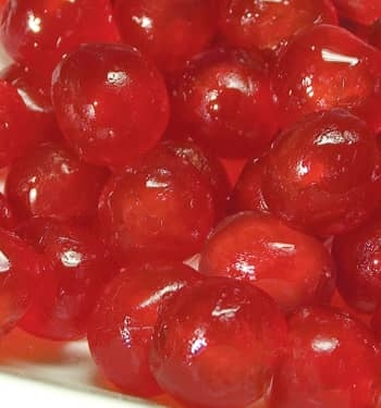 Red Cherry Berry candied cherry for pastry Cesarin